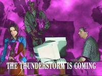 Music clip for the song 'Thunderstorm is coming'