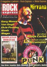 Music review from Rock Express magazine for album